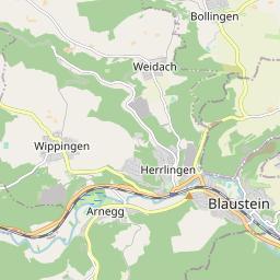 Vom Blautal Aufs Hochstrass Ulm Gps Wanderatlas