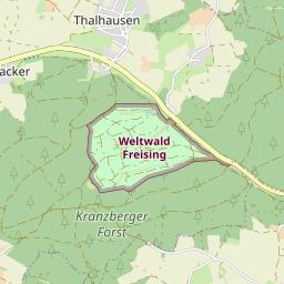 Vom Kranzberger See In Den Kranzberger Forst Gps Wanderatlas